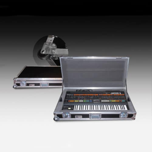 Duo Organ Keyboard Flight Case