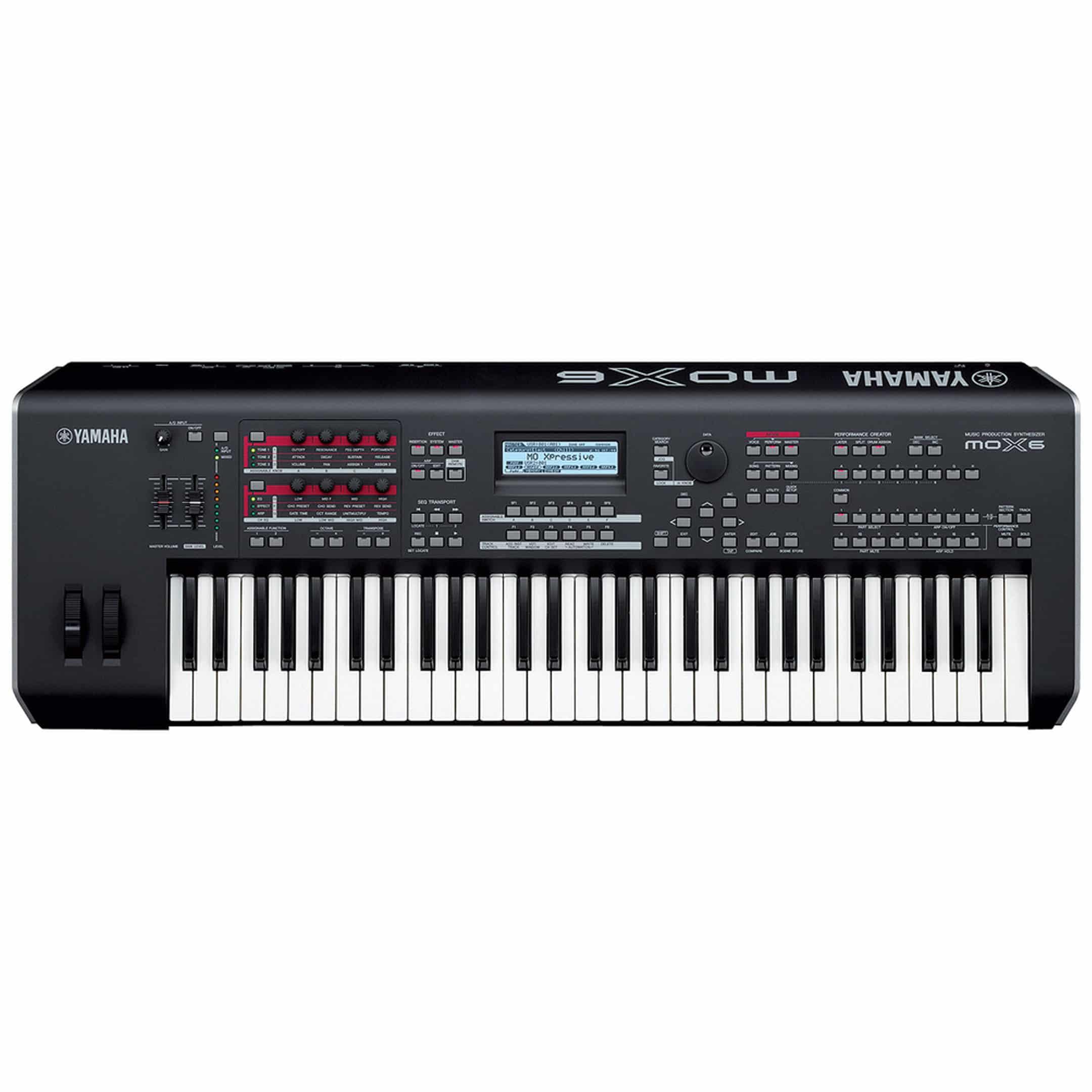 Yamaha MOX6 61-Key Keyboard Flight Case